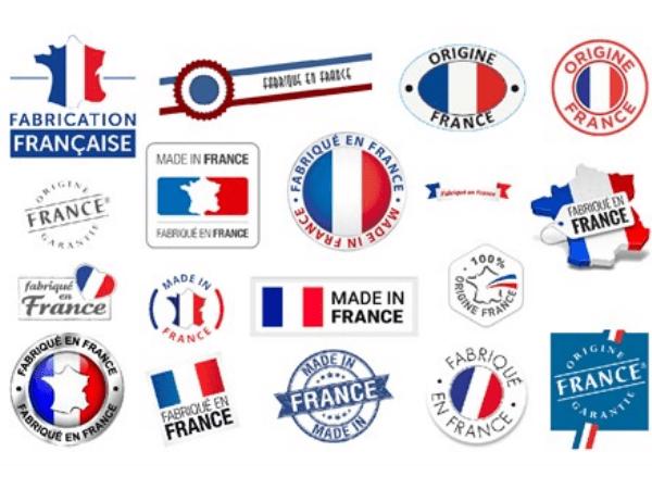Made in France logo labels