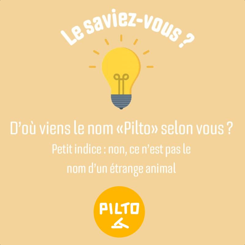 Origine du nom marque Pilto