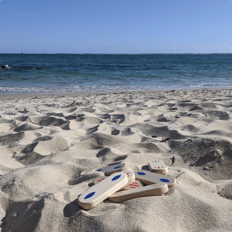 Pilto jeu plage famille
