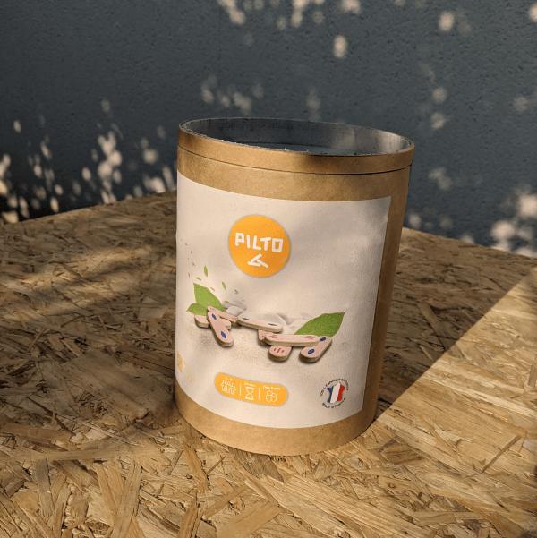 Boite du jeu Pilto au soleil